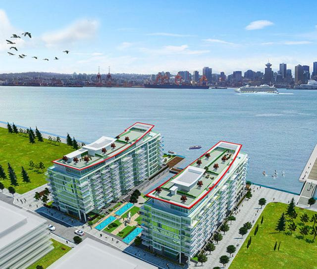 707 - 175 Victory Shipway, Lower Lonsdale, North Vancouver